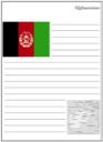 Homeschool Helper Online's Afghanistan Notebooking