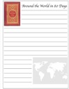 Around the World in 80 Days Free Notebooking Page