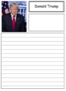 Homeschool Helper Online's Free Donald Trump Notebooking