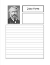 Jules Verne Notebooking Paper