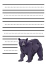 Black Bear Notebooking Paper
