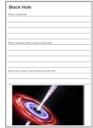 Homeschool Helper Online's Free Black Hole Notebooking