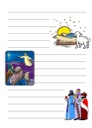 Free Christmas Story Notebooking Page