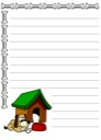 Homeschool Helper Online's Free Dog Notebooking