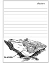 Glaciers Notebooking Paper