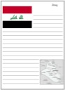 Homeschool Helper Online's Iraq Notebooking