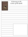 Homeschool Helper Online's Free Journey to the Center of the Earth Notebooking