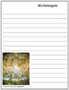 Homeschool Helper Online's Free Michelangelo's Fresco of the Last Judgement Notebooking