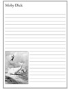 Moby Dick Notebooking Paper