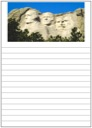 Homeschool Helper Online's Mt. Rushmore Notebooking