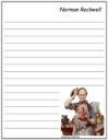 Norman Rockwell's Perpetual Motion Notebooking Page