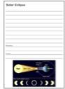 Homeschool Helper Online's Free Solar Eclipse Notebooking