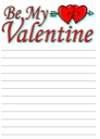 Free Valentine's Day Notebooking Page