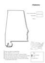 Alabama Geography Worksheet