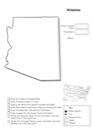Homeschool Helper Online's Free Arizona Geography Worksheet