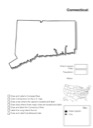 Connecticut Geography Worksheet
