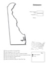 Delaware Geography Worksheet
