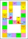 Homeschool Helper Online's Game Board Worksheet