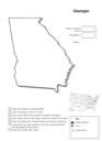 Homeschool Helper Online's Free Georgia Geography Worksheet