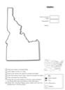 Idaho Geography Worksheet