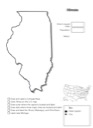 Homeschool Helper Online's Free Illinois Geography Worksheet
