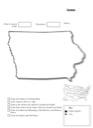 Iowa Geography Worksheet