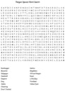 Free Penguin Species Word Search