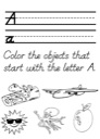Alphabet Tracing Practice Worksheet