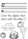 Alphabet Tracing PracticeWorksheet