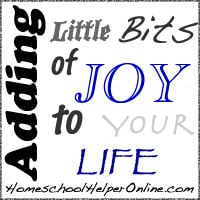 Adding Little Bits of Joy to Your Life
