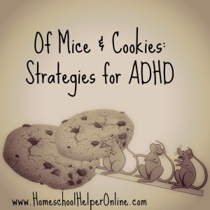 Of Mice & Cookies: Strategies for ADHD