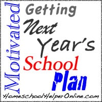 Getting Motivated: Next Year's School Plan