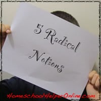 Five Radical Notions for the Socially Challenged