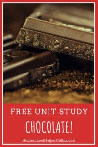 Free unit study based on the life of Milton Hershey