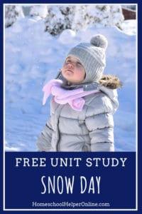 Snow Day Unit Study