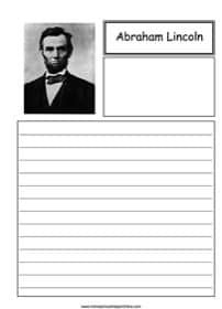 Abraham Lincoln Notebooking