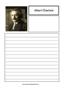 Albert Einstein Notebooking