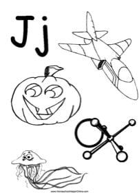 Alphabet Letter J Worksheet