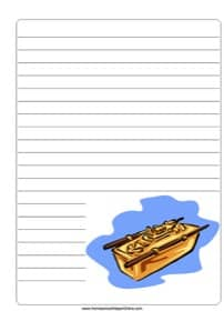 Ark of the Covenant ~ Bible Notebooking Page