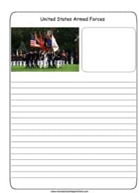 U.S. Armed Forces Notebooking Page