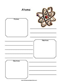 Atoms Notebooking Page
