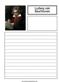 Ludwig van Beethoven Notebooking