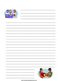 Christmas Gift Giving Notebooking Page