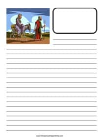 Joseph & Mary ~ Bible Notebooking Page