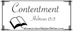 Contentment Character Study