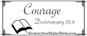 Courage Character Study