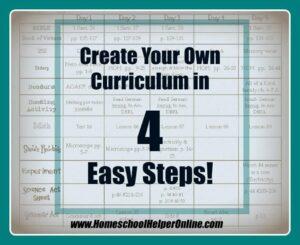 Plan your Curriculum