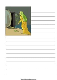 Empty Tomb ~ Bible Notebooking Page