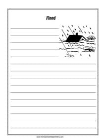 Flood Notebooking Page