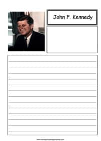 John Kennedy Notebooking